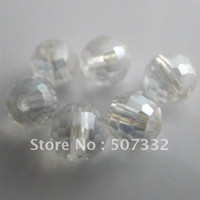 Wholesale firstyle mm AAA Top Quality disco ball crystal glass beads crystal clear AB colour DR0