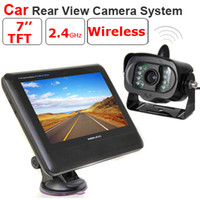 Wholesale inch TFT LCD Monitor GHz Wireless Car Rear View Camera System with Night Vision Wea
