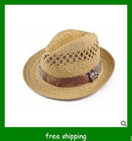 Khaki  beach  Twill hot selling for straw hat , beach hat, lady straw beach hat .fashion lady hat,jazz hat.