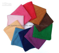 Wholesale Cleaning Cloth Microfiber Kitchen Towels Wiping Dust Rags Magic Quick Dry Dish Cloth Product