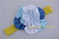 Headbands Cotton Floral 2013 new style wholesale TOP BABY headband hairband flower hair accessories 30pcs lot