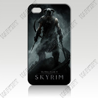 Wholesale 4IZC0945 The Elder Scrolls skyrim Hard Case Cover for Iphone S Fit AT amp T Sprint Verizon