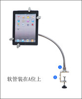 Wholesale lazy bracket Metal Innovative Multi functional Stand Holder for Ipad Tablet PC Stand Bracket bed des H410