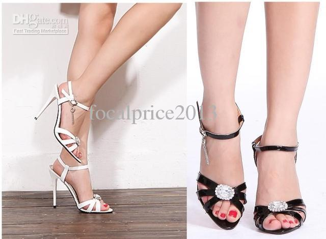 12 high-heeled shoes 2013 cd plus size sexy women's shoes sandals lx12