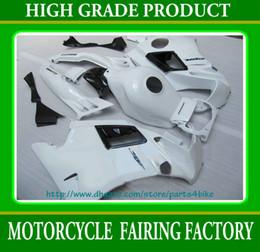 Descuento 91 carenados honda cbr Carenado blanco puro de alto rade para Honda CBR600 F2 1991-1994 CBR 600 F2 CBR-600 F2 91 92 93 94 RX2c 2c