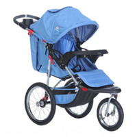 Wholesale CHBABY lightweight fashion inflatable bumper cover all three rounds of b blue jogging stroller b