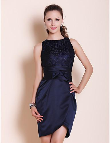 Cocktail Dress Navy Blue - Ocodea.com