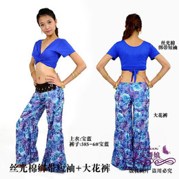 Wholesale The new tribal style belly dance clothing belly dancing costumes women wear practice pants top flow