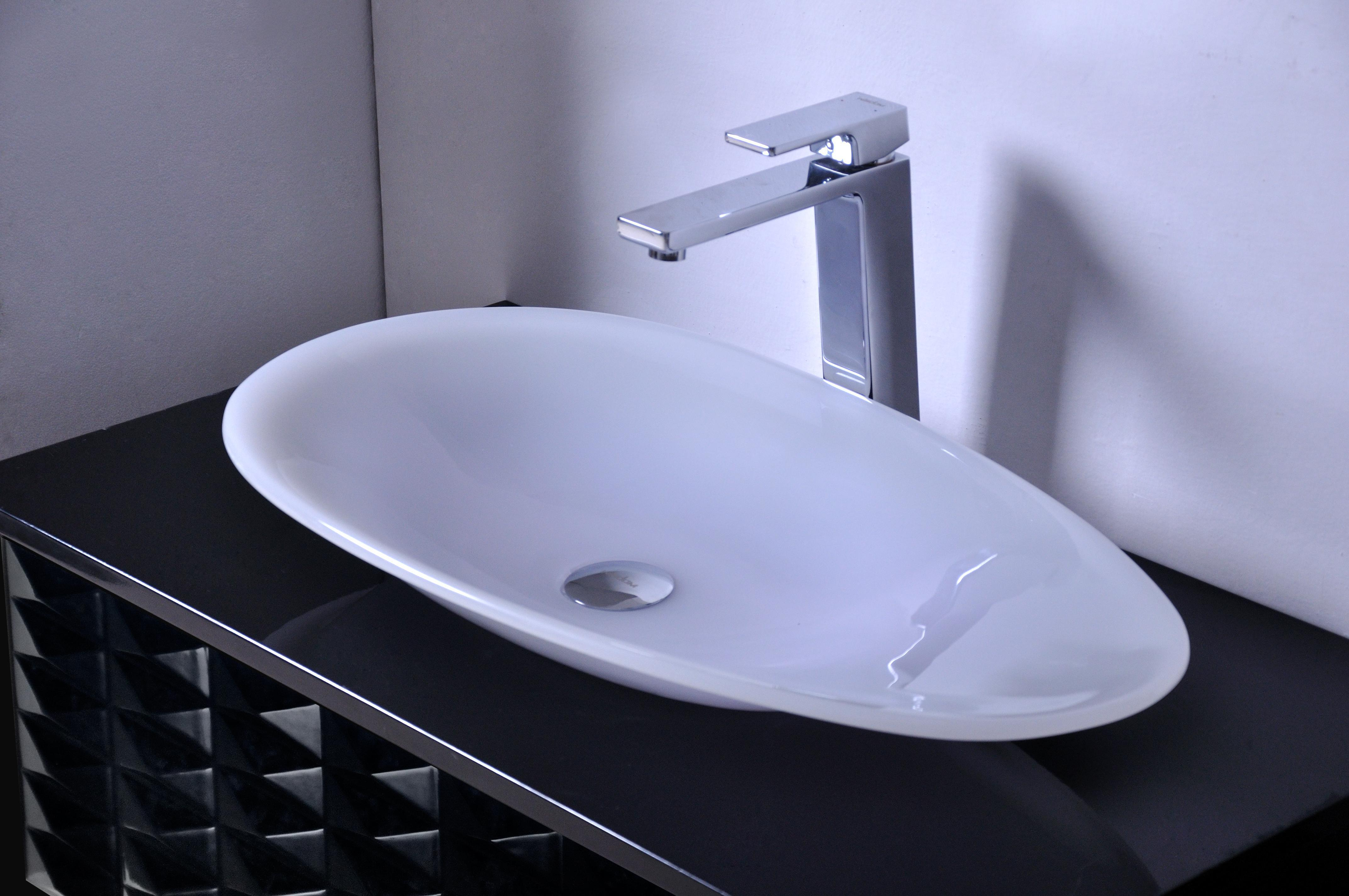 700mm*400mm*100mm CUPC Certificate Bathroom Resin Oval Counter Top Sink  Colourful Cloakroom Wash Basin Solid Surface Stone Vessel RS38280