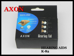 Wholesale HOT AXON Mini Invisible Hearing aid Aids Brand New Best Sound amplifier with CE K DHL