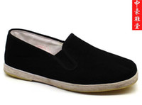 Wholesale Beijing cotton made shoes handmade satisfied male cotton made shoes plus size men