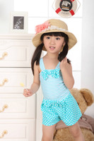 Wholesale Child swimwear factory Free Post Spring happy amino acids Princess piece performance
