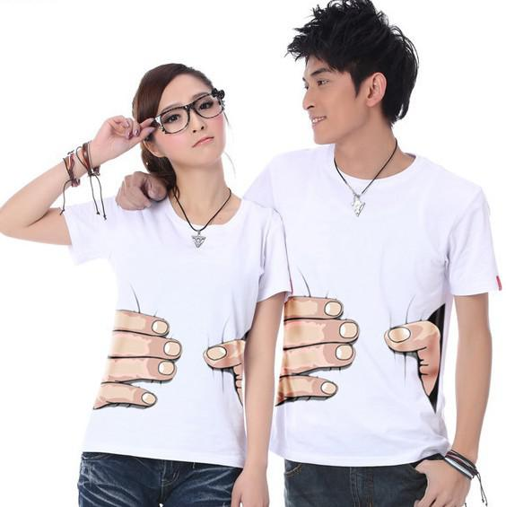2013 big hand t shirt man women clothes printing hot 3d for Full hand t shirts for womens