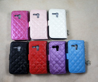 Cheap Leather leather case Best For Samsung  crystal wallet