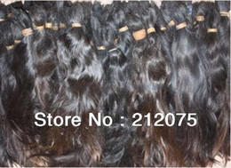 Wholesale 1kg Bulk brazilian Virgin braided hair Fashion health human hair natural black quot quot inches