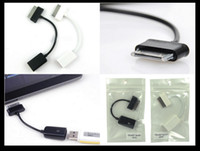 Wholesale For Samsung Galaxy Tab N8000 N8010 USB Connection Kit OTG Host Cable Adapter for P7510