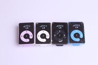 Wholesale 2GB Mirror Clip MP3 Player Support TF MicroSD Card Can Choose Color