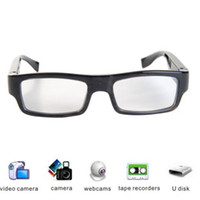 Wholesale Quality P HD Digital Video Glasses Camera DVR Video Recorder Camcorder with Durable Frame and Can Replace Lenses by Yourself