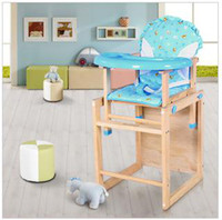 Wholesale Children s chairs solid wood dinette baby baby dining table dinner chair BB stool seat multifunction