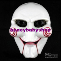 Wholesale 10pcs Halloween costume party Saw horror at the theme Chainsaw massacre mask