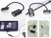 Wholesale USB OTG Connection Kit Cable For Samsung Galaxy Tablet PC Tab P7500 P7510 P5100 Flash Disk