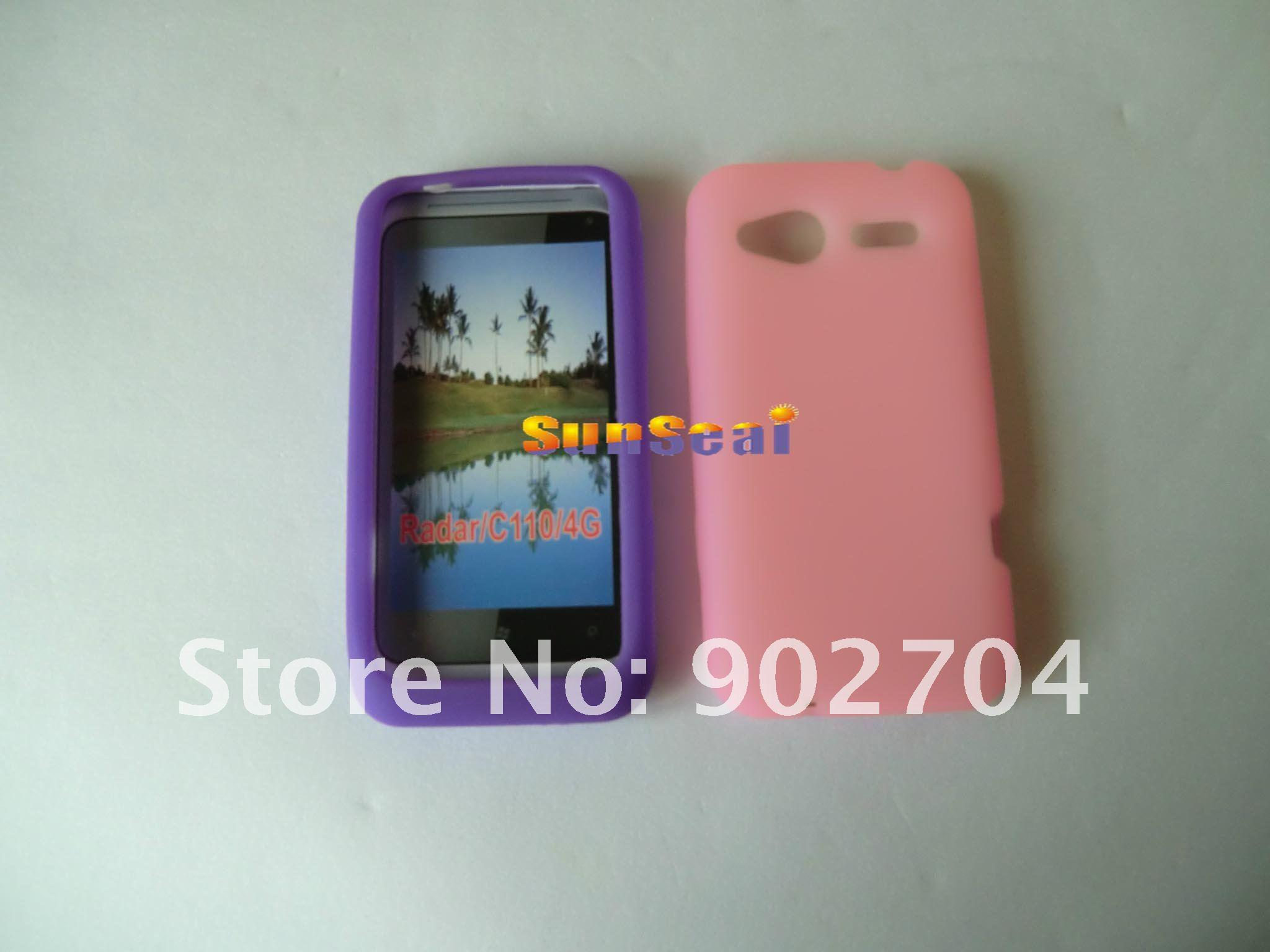 Buy 20 Soft Silicon Gel Case Cover Skin HTC Radar 4G C110e