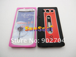 Wholesale 200pcs Cassette Type Soft Silicone Case for Samsung Galaxy S3 I9300