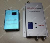 Wholesale 30pcs N11 G CH Wireless mw CCTV A V Transmitter Receiver
