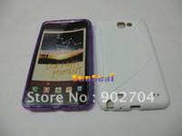 n7000 tpu - 200pcs S line Soft TPU Case Cover Skin for Samsung Galaxy Note N7000 I9220