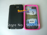 Silicone n7000 case - 100pcs Soft Silicon Gel Case Cover Skin for Samsung Galaxy Note N7000 I9220