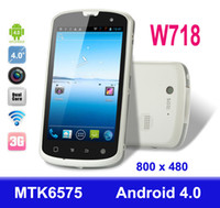 Wholesale W718 Haier IP67 Waterproof Android Smart Cell Phone G GSM Dual Core MTK6575 GHz GPS Wifi