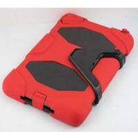 Wholesale Tri Layer Military hard Case Cover for ipad rd4thGEN ipad ipad mini ipad air