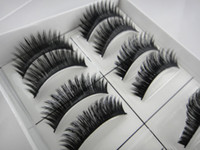 Wholesale 8packs false eyelashes hand made high quality new arrival mascara beauty products makeup girls