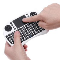 Wholesale 92 Keys GHz Mini Fly Air Mouse USB Wireless Keyboard touchpad Mouse For PC TV Palyer X BOX