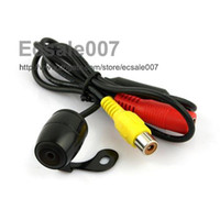 Wholesale HOT Universal Mini Car Rear View Reverse Backup degrees Camera Waterproof