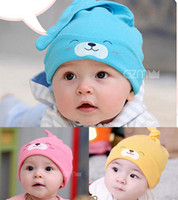Wholesale Skull Cap Fashion Casual Beanie Hat Caps Infant Cute Cartoon Caps Newborn Baby Hats Kids Animal Cap