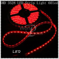 Wholesale 3528 LED Strip Light m with power supply non Waterproof strip M LED holiday christmas decoration DIY in stock