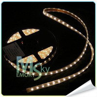 Wholesale 3528 Waterproof LED Strip M Roll Lamp beads six colours Flexible DIY Chrismas Decoration