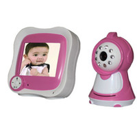 Wholesale Horizontal TV line inch LCD GHz Wireless Baby Monitor with M Range Night vision Distance