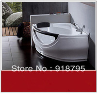 Wholesale Acrylic whirlpool bathtub massag tub with massage and without massage function optional indoor spa