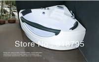 Wholesale Acrylic whirlpool bathtub massag tub with massage and without massage function optional indoor spa WD6462