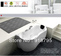 Wholesale Acrylic whirlpool bathtub massag function tub with massage and without massage function optional WD6437