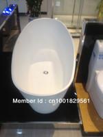 Wholesale solid surface bathtub corian bathtub artificial stone bathtub