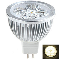 Wholesale MR16 W Lumen Energy Saving LED Metal Bulb Light Lamp with GU5 Bipin Cap AC DC V