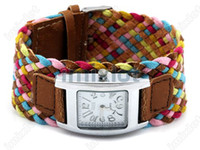 Wholesale Lady Woman Fashion Wristwatches High Quality Alloy amp Leather Luxury Watch PC MSO03