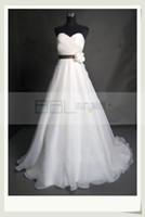 Wholesale Strapless organza wedding custom upscale bridal corset and tulle wedding dresses