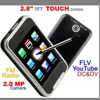 Wholesale MP4 Player Video MP3 Music Players Inch Screen GB GB FM Camera Speakers GC