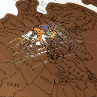 Wholesale Scratch Map Of The World Map Decoration Map Play