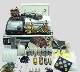 Wholesale Hot K214 tattoo kit double machine suitable for tattoo machine DHL