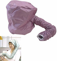 Wholesale 60 Portable Home Hair Dryer Soft Hood Bonnet Attachment Haircare Salon Hairdressing
